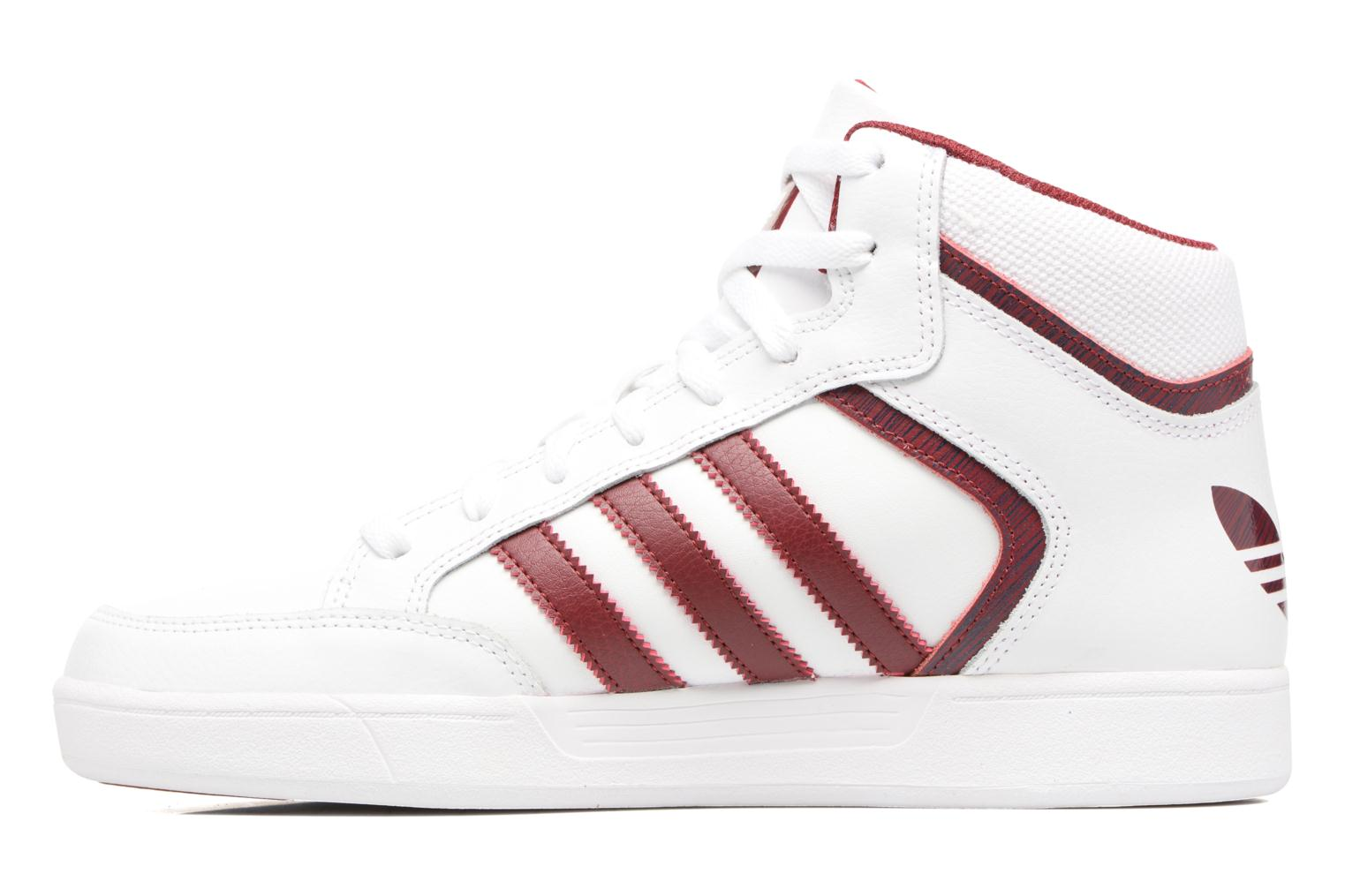 Trainers Adidas Originals Varial Mid White front view