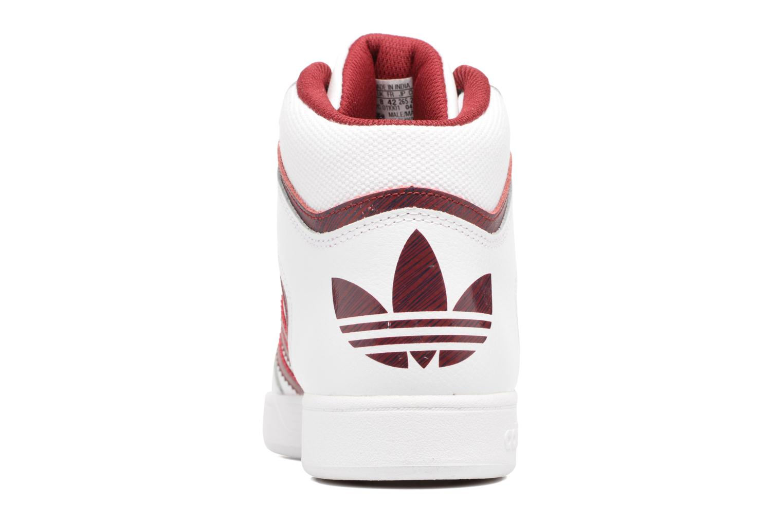 Sneaker Adidas Originals Varial Mid weiß ansicht von rechts