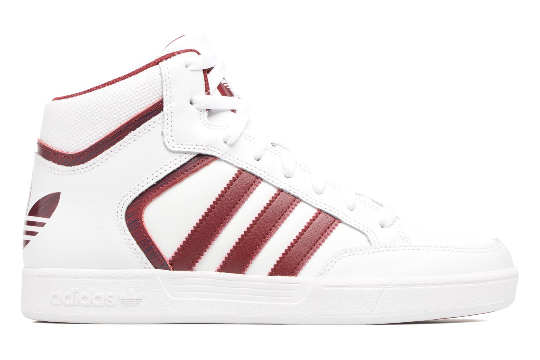Sneaker Adidas Originals Varial Mid weiß ansicht von hinten