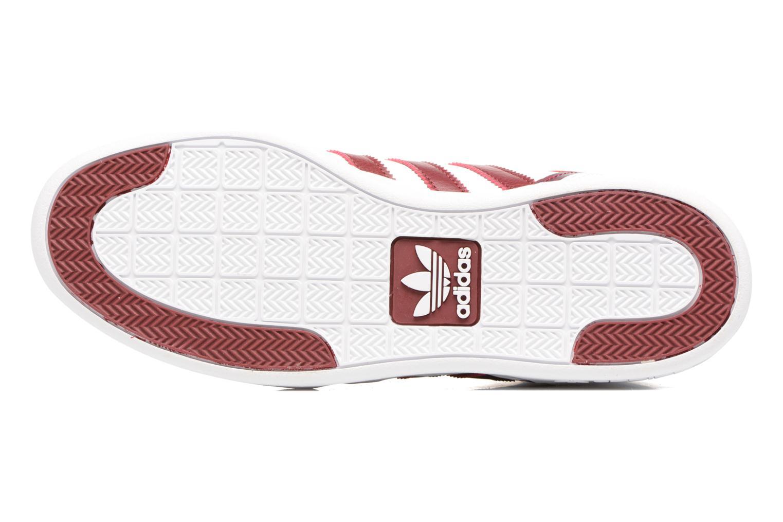 Sneaker Adidas Originals Varial Mid weiß ansicht von oben
