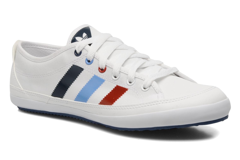 online retailer 05844 7b341 adidas nizza blanco