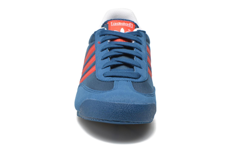 Sneakers Adidas Originals Dragon J Blauw model