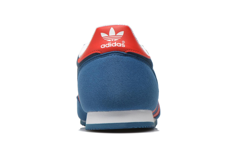 Baskets Adidas Originals Dragon J Bleu vue droite