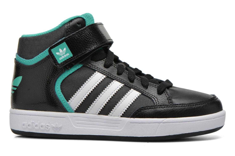 Baskets Adidas Originals Varial Mid J Noir vue derrière