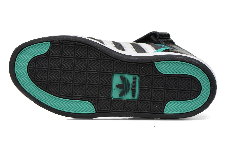 Baskets Adidas Originals Varial Mid J Noir vue haut