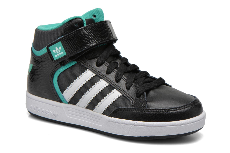 Baskets Adidas Originals Varial Mid J Noir vue détail/paire