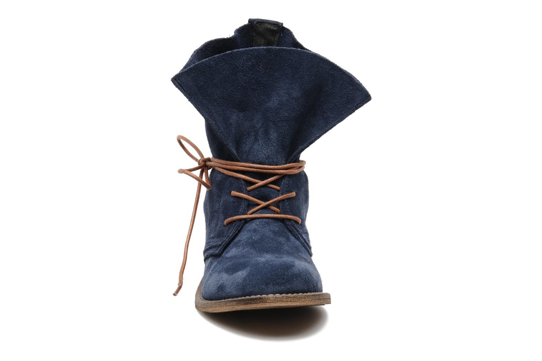 Stivaletti e tronchetti SPM Oklahoma Azzurro modello indossato