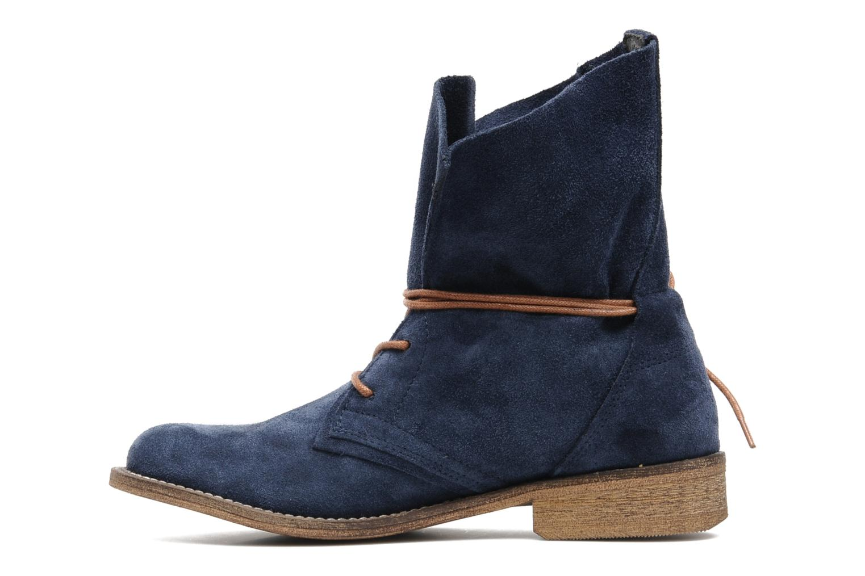 Bottines et boots SPM Oklahoma Bleu vue face