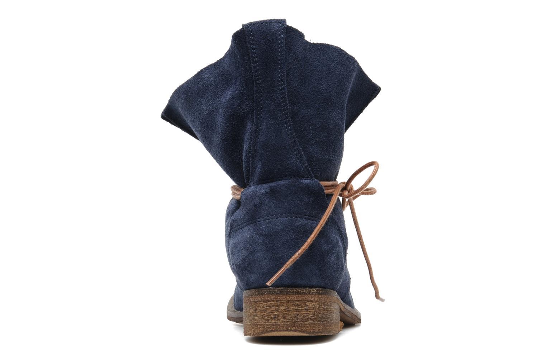 Bottines et boots SPM Oklahoma Bleu vue droite