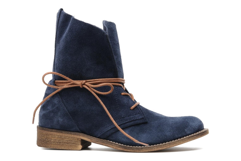 Bottines et boots SPM Oklahoma Bleu vue derrière