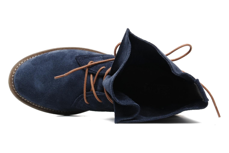Bottines et boots SPM Oklahoma Bleu vue gauche