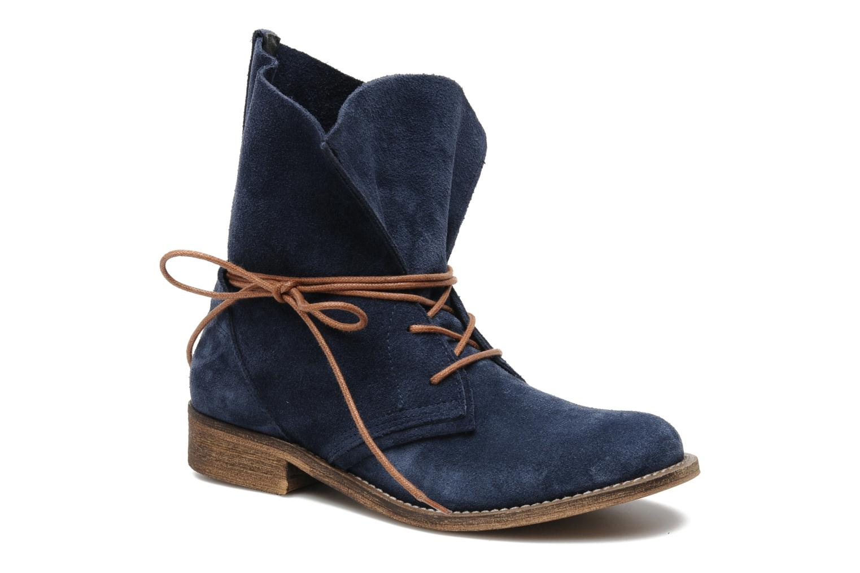 Bottines et boots SPM Oklahoma Bleu vue détail/paire