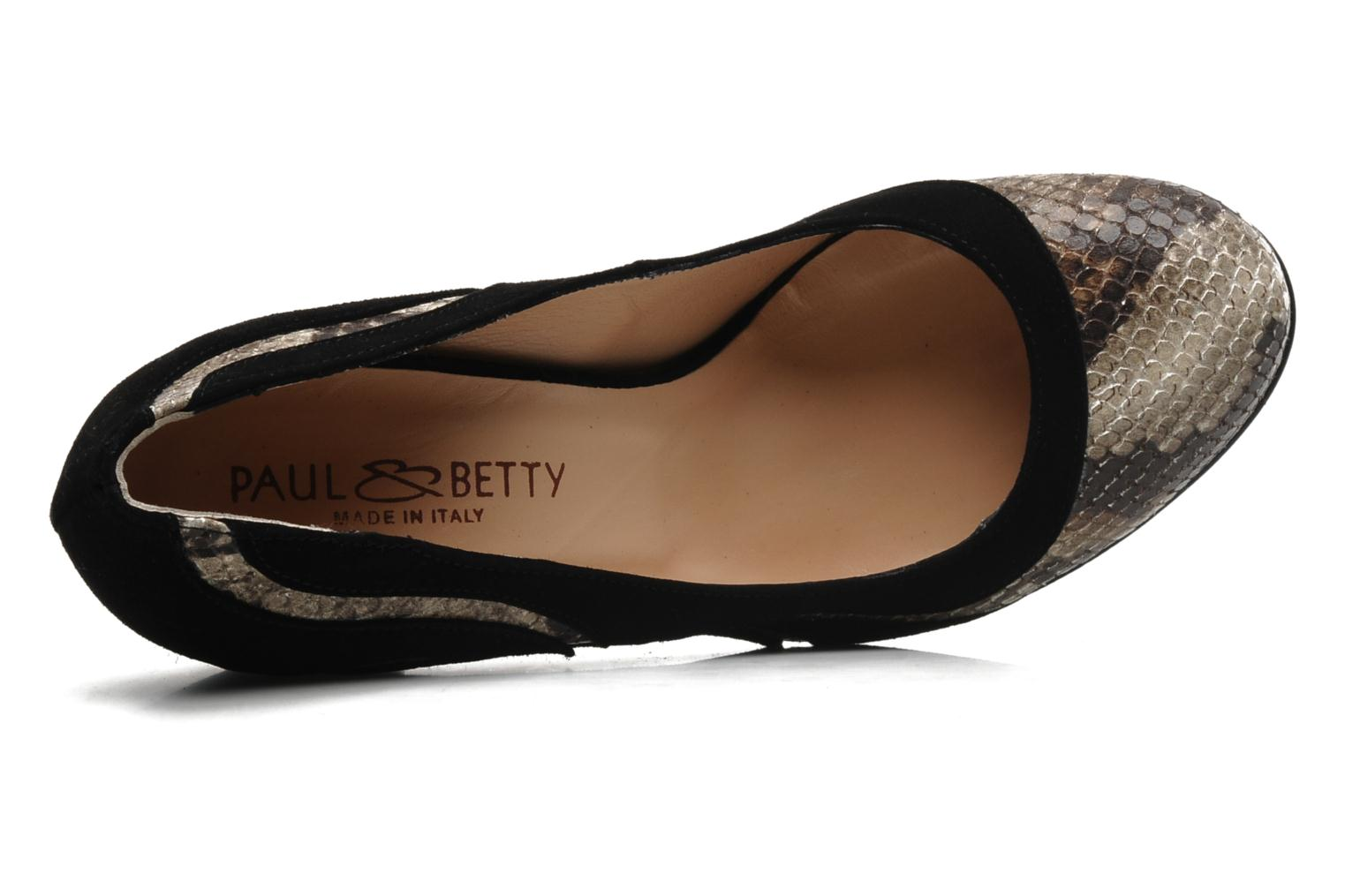 High heels Paul & Betty Frasal Multicolor view from the left