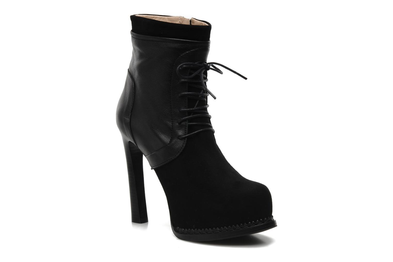 Bottines et boots Paul & Betty Jenny Lace Noir vue détail/paire