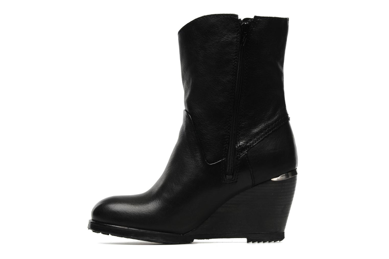 Boots en enkellaarsjes Bronx LUNE 33371 Zwart voorkant
