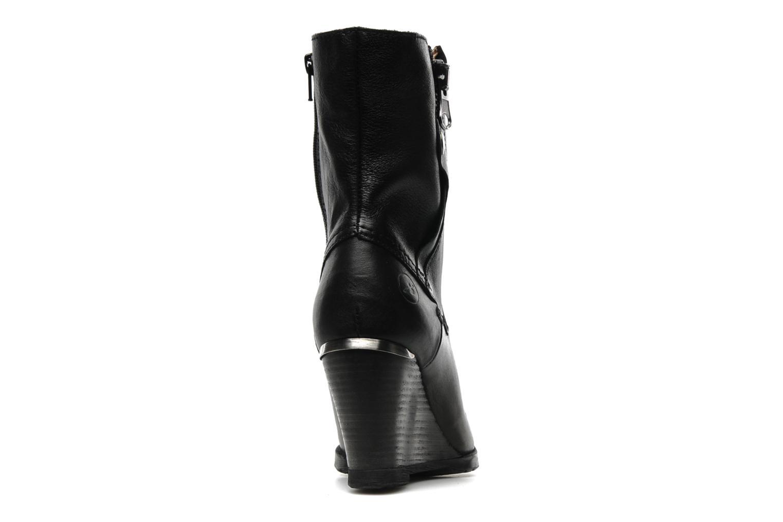 Boots en enkellaarsjes Bronx LUNE 33371 Zwart rechts