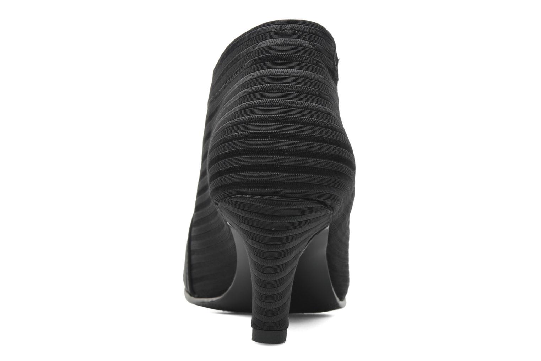 Bottines et boots United Nude Fold Mid Noir vue droite