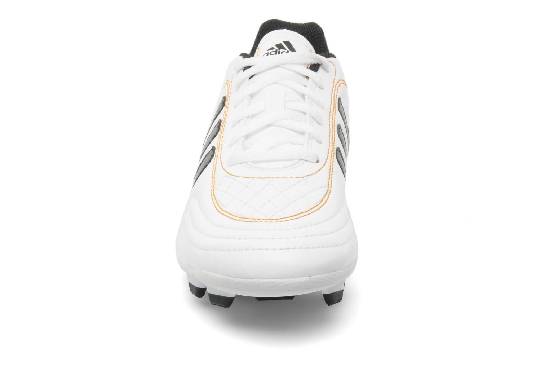 Chaussures de sport Adidas Performance Goletto III TRX FG J Blanc vue portées chaussures