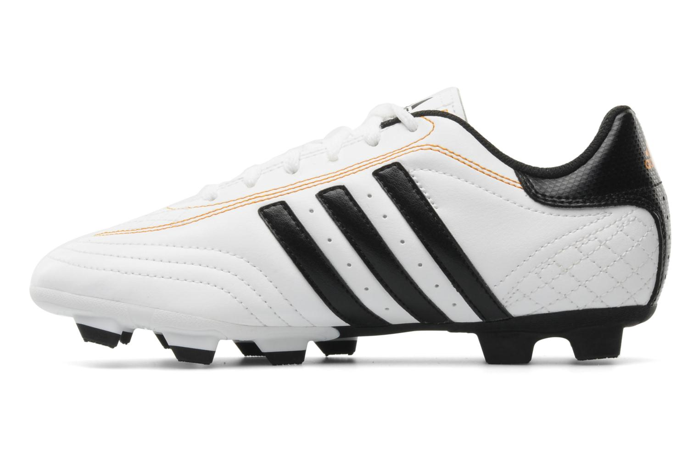 Chaussures de sport Adidas Performance Goletto III TRX FG J Blanc vue face
