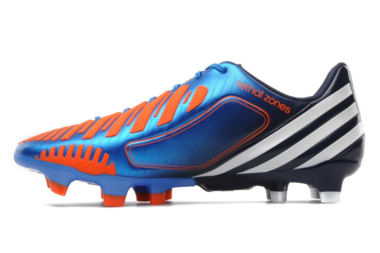 Sportschuhe Adidas Performance Predator LZ TRX FG blau ansicht von vorne