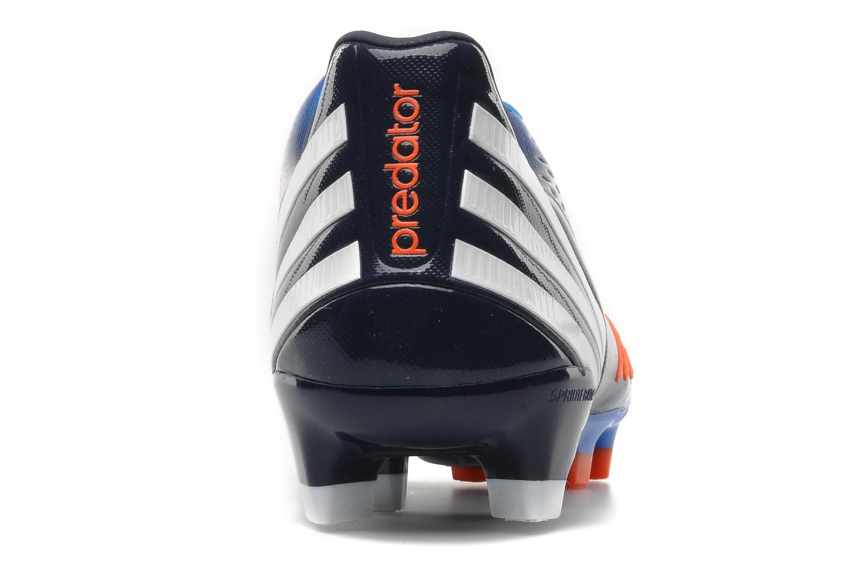 Sportschuhe Adidas Performance Predator LZ TRX FG blau ansicht von rechts