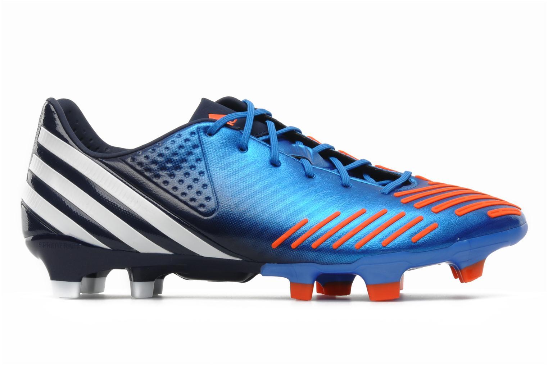 Sportschuhe Adidas Performance Predator LZ TRX FG blau ansicht von hinten