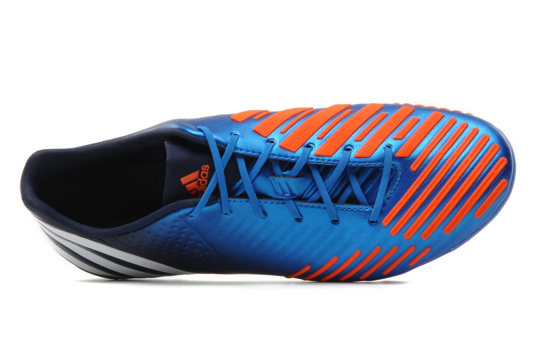 Sportschuhe Adidas Performance Predator LZ TRX FG blau ansicht von links
