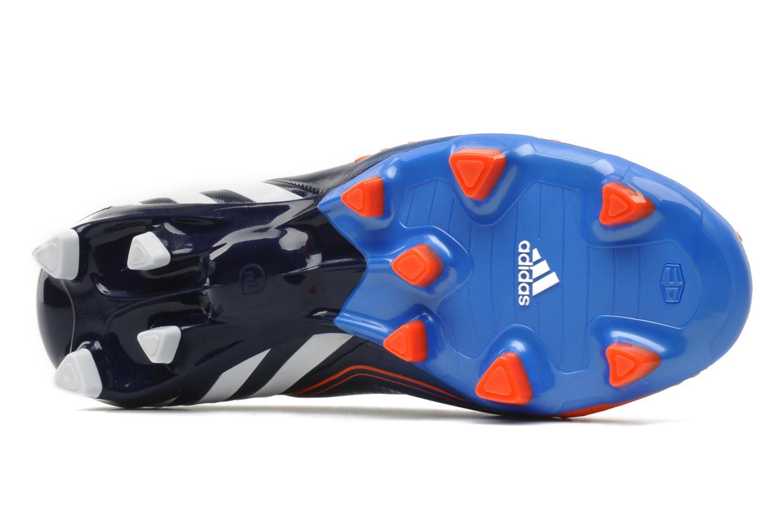 Sportschuhe Adidas Performance Predator LZ TRX FG blau ansicht von oben