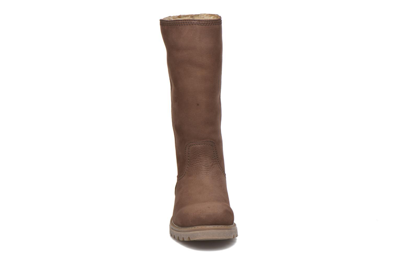 Bottines et boots Panama Jack Bambina Marron vue portées chaussures