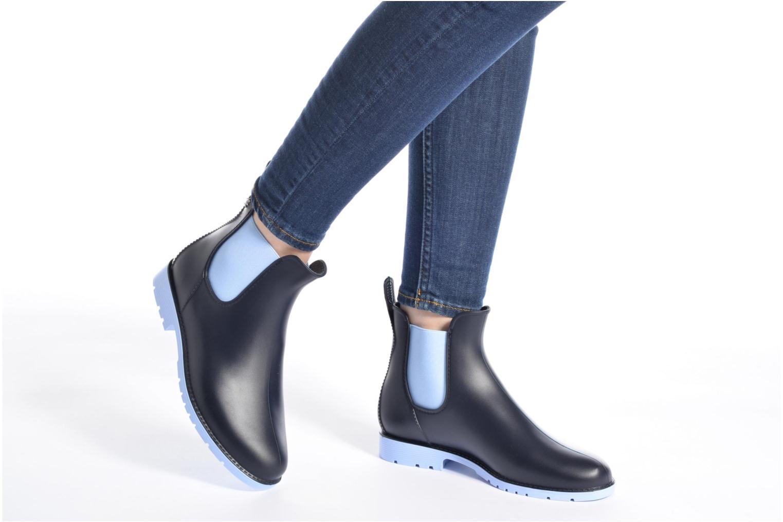 Bottines et boots Méduse Jumpy Marron vue bas / vue portée sac