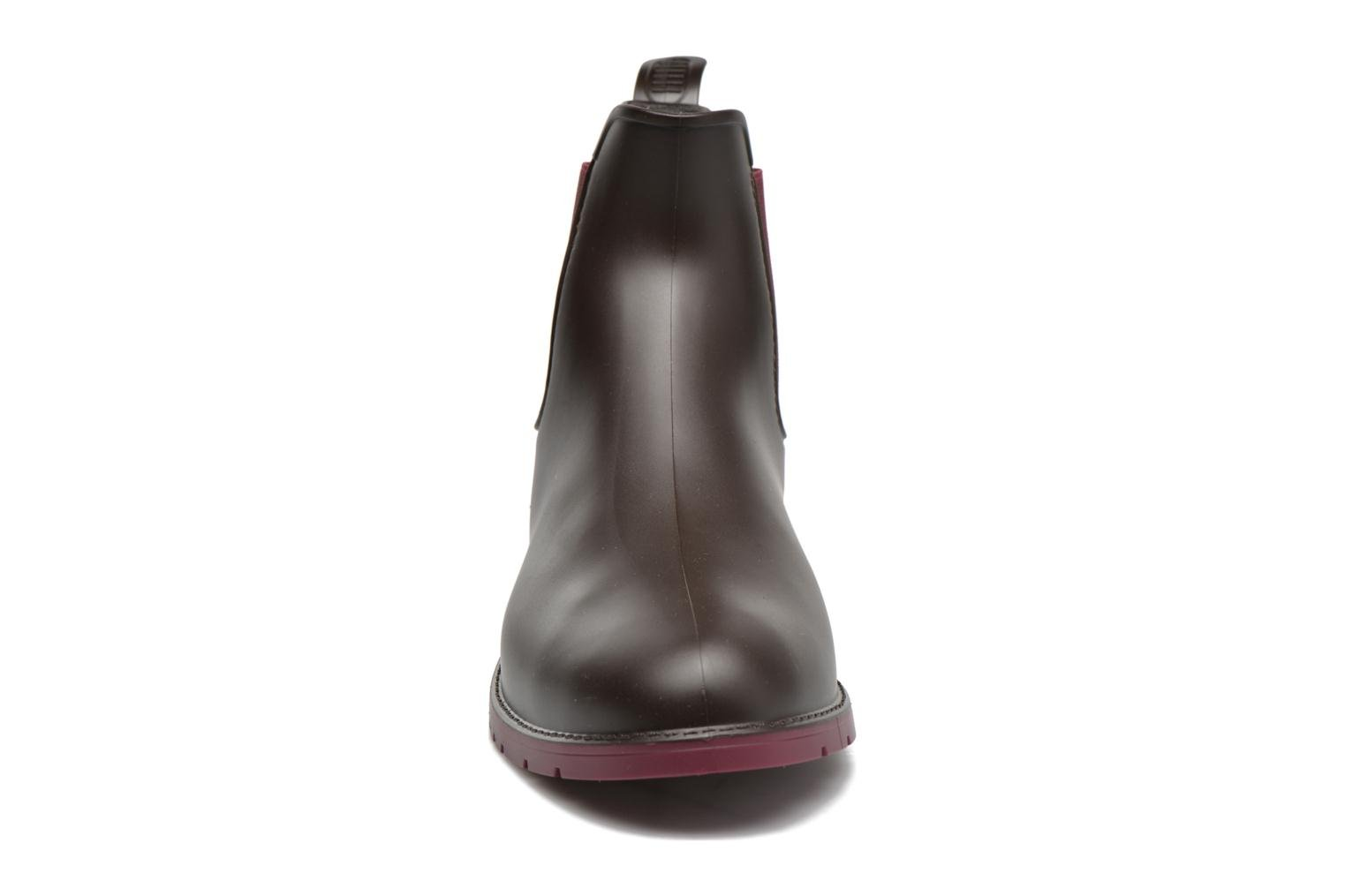 Ankle boots Méduse Jumpy Brown model view