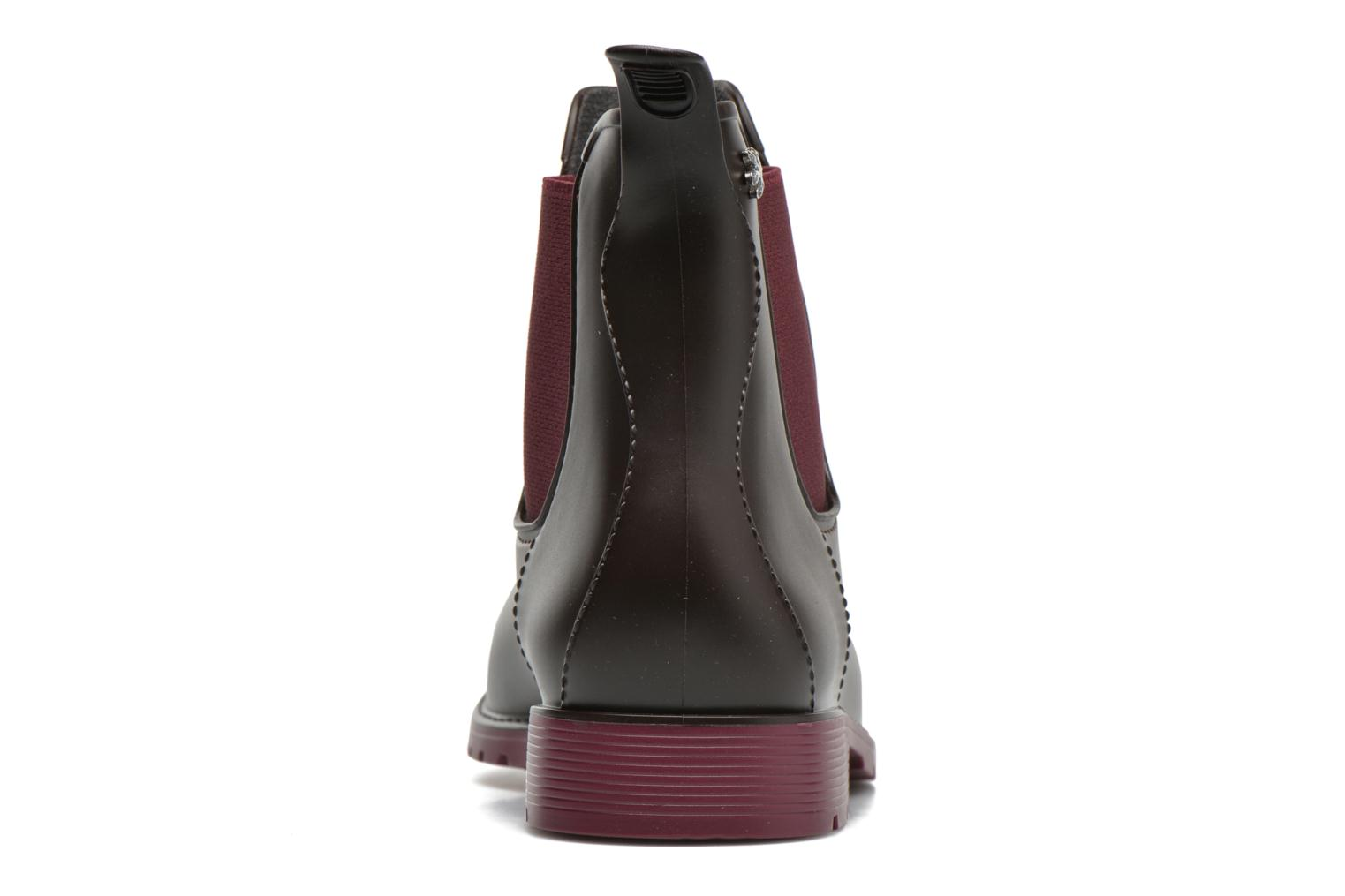 Ankle boots Méduse Jumpy Brown view from the right