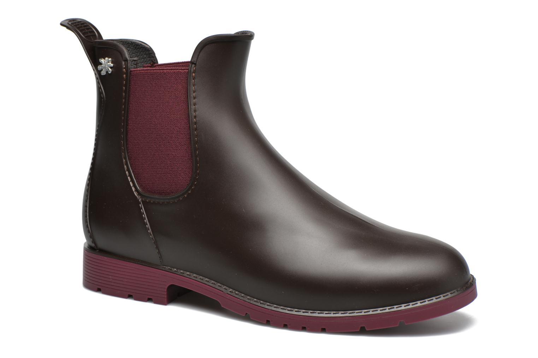 Bottines et boots Méduse Jumpy Marron vue détail/paire