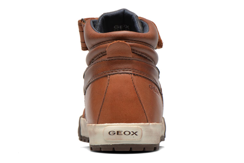 Sneaker Geox J MYTHOS D braun ansicht von rechts