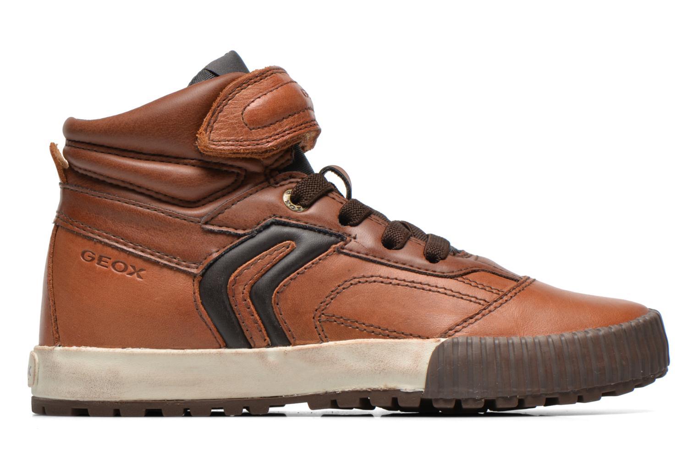 Sneaker Geox J MYTHOS D braun ansicht von hinten