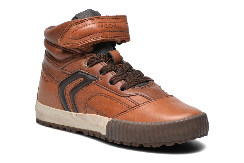 Sneaker Geox J MYTHOS D braun detaillierte ansicht/modell