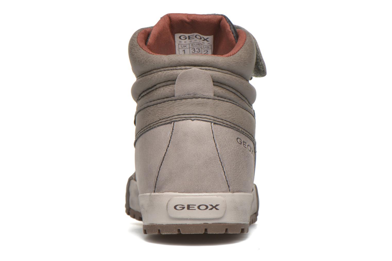 Baskets Geox J MYTHOS D Marron vue droite