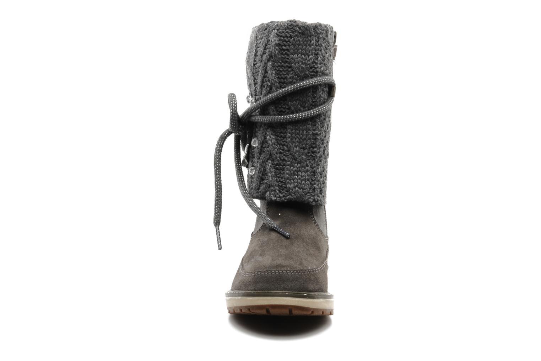 Bottines et boots Geox J NOHA C Gris vue portées chaussures