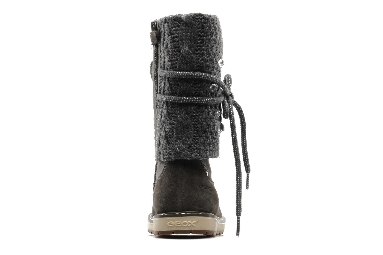 Bottines et boots Geox J NOHA C Gris vue droite