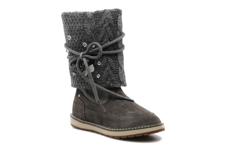 Bottines et boots Geox J NOHA C Gris vue détail/paire