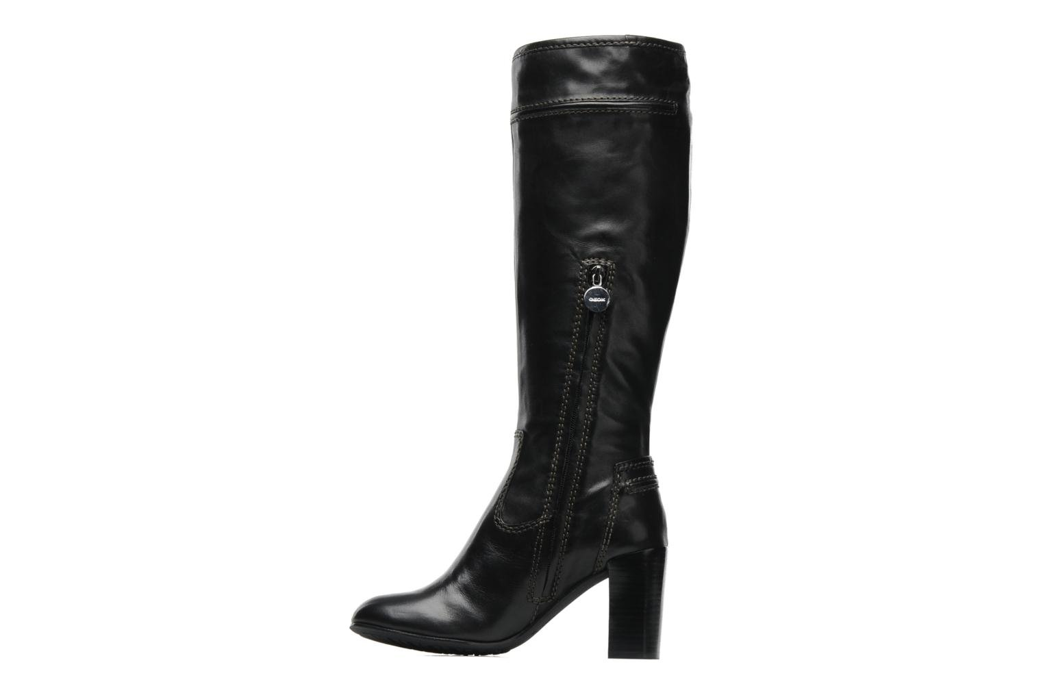 Boots & wellies Geox DONNA MAURIZIA STIV Black front view
