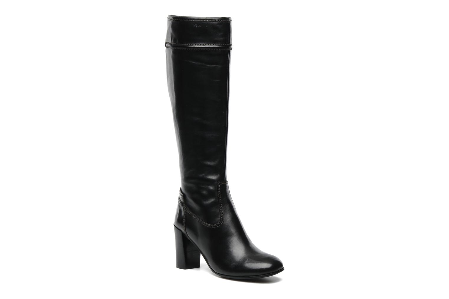 Boots & wellies Geox DONNA MAURIZIA STIV Black detailed view/ Pair view