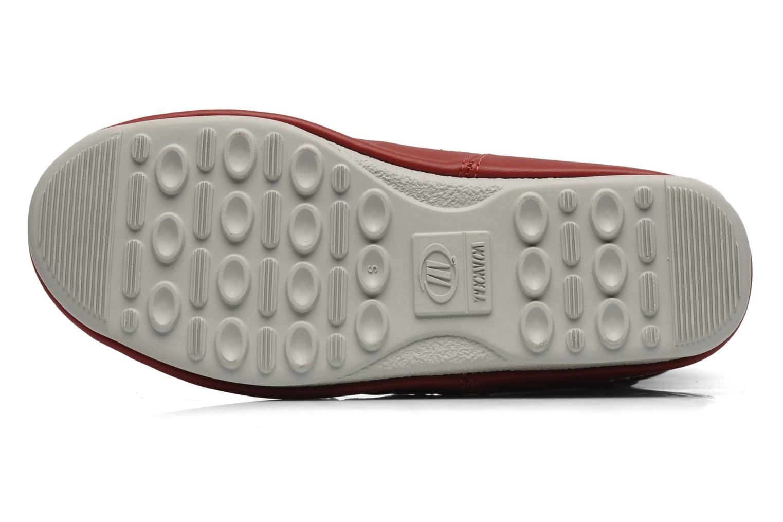 Chaussures de sport Moon Boot Duvet Rouge vue haut