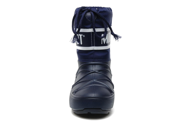 Chaussures de sport Moon Boot Moon Boot Pod Jr Bleu vue portées chaussures