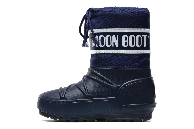 Sportschuhe Moon Boot Moon Boot Pod Jr blau ansicht von vorne
