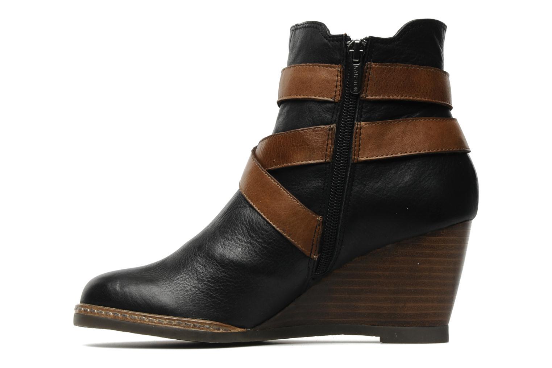 Bottines et boots Karston Kual Noir vue face