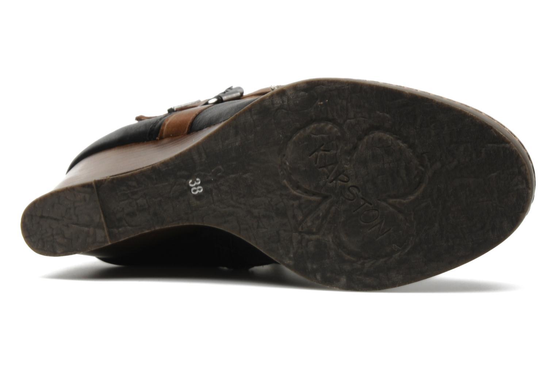 Bottines et boots Karston Kual Noir vue haut