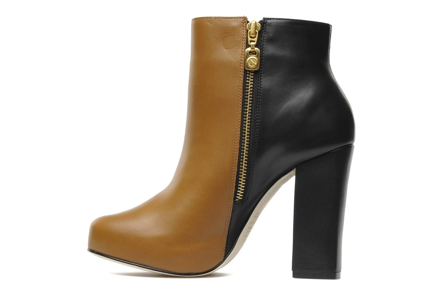 HAZEL WINTER TAN/BLACK LEATHER