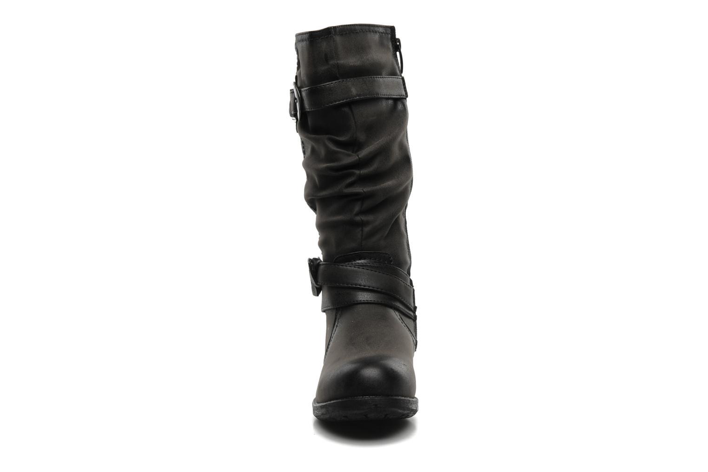 Bottes I Love Shoes Sumeri Noir vue portées chaussures