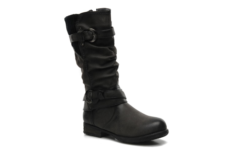 Bottes I Love Shoes Sumeri Noir vue détail/paire